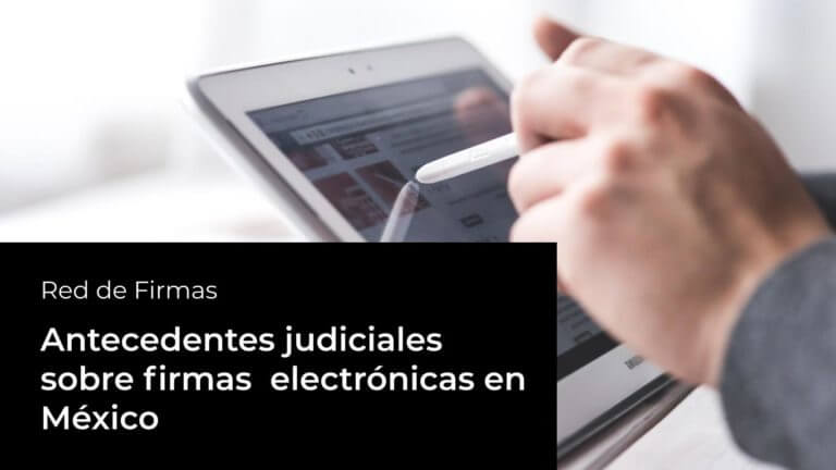 firmas electrónicas
