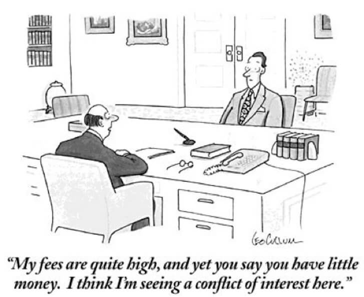 Lawyer fees cartoon