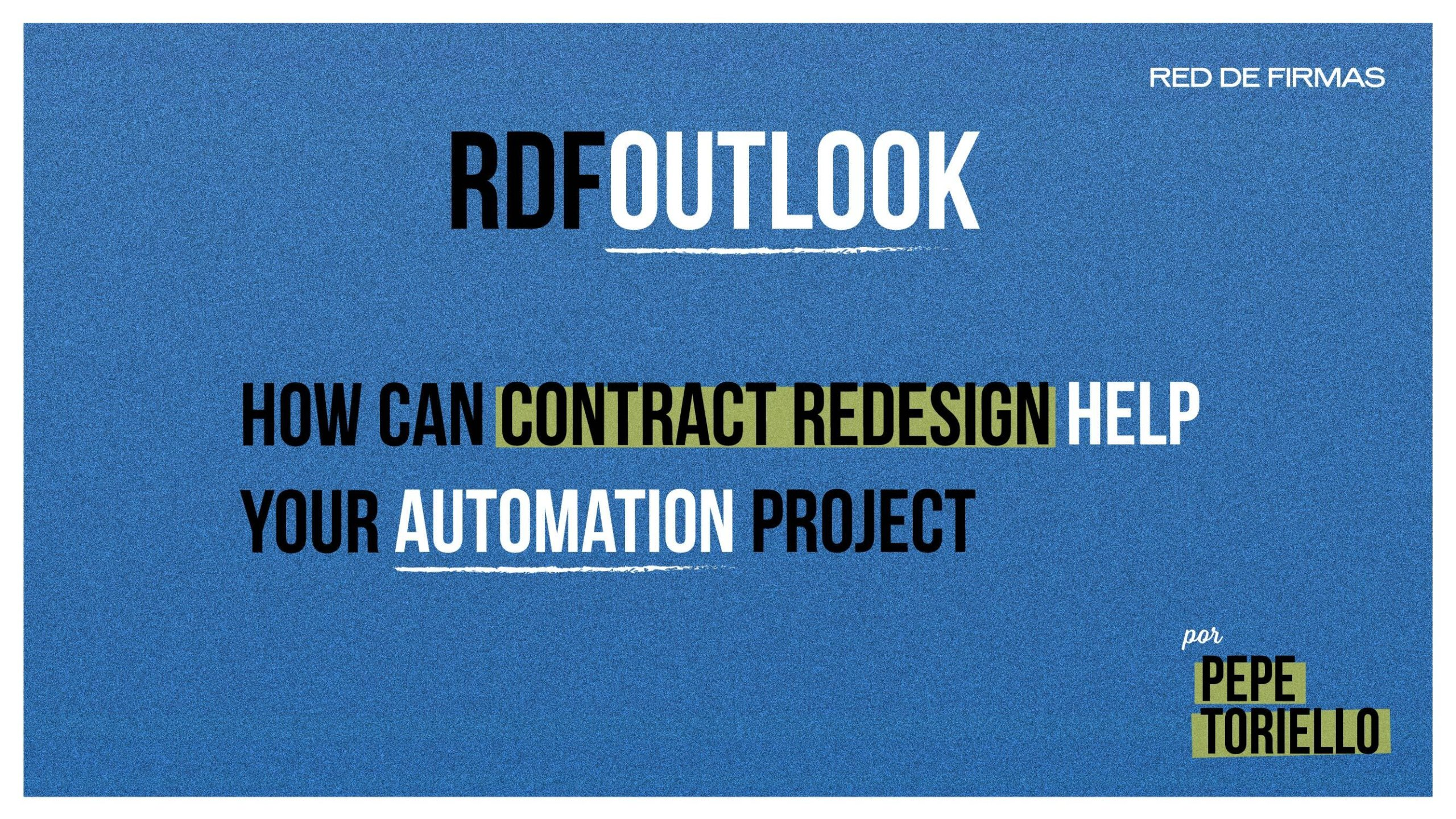 Contract Design and automation