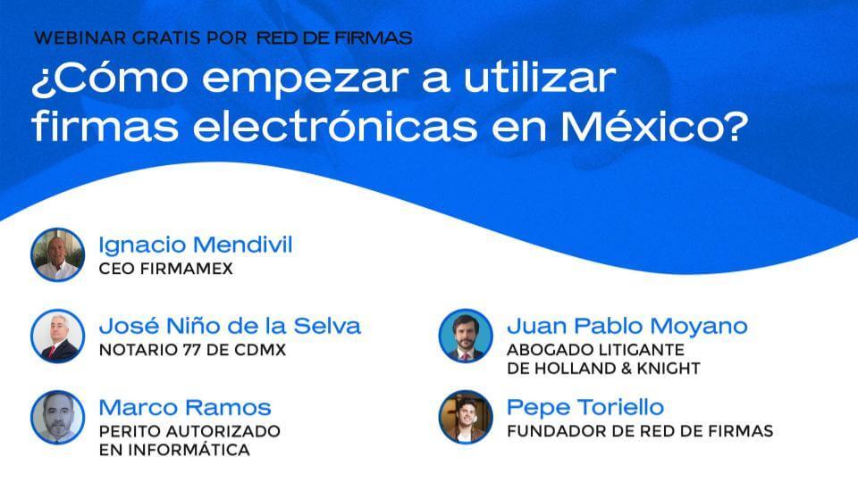¿Cómo empezar a utilizar firmas electrónicas en México?
