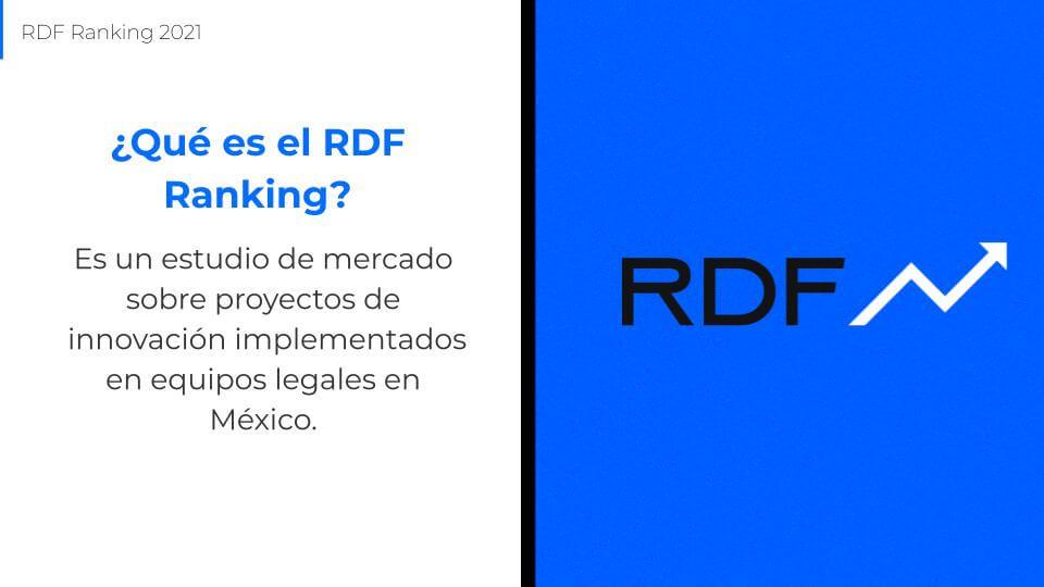 qué es el rdf ranking