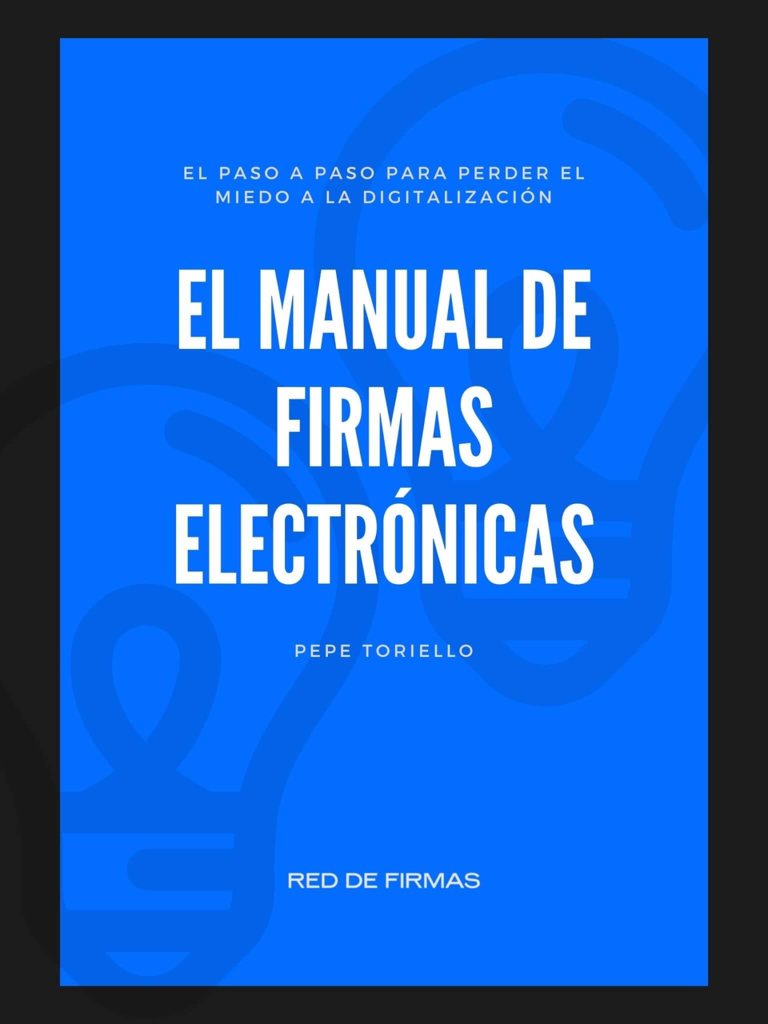 manual de firmas electrónicas
